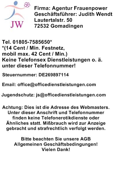 Impressum telefonsex-exklusiv.de